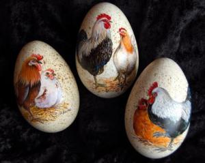 8. Hühner