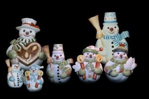 Figuren Schneemänner